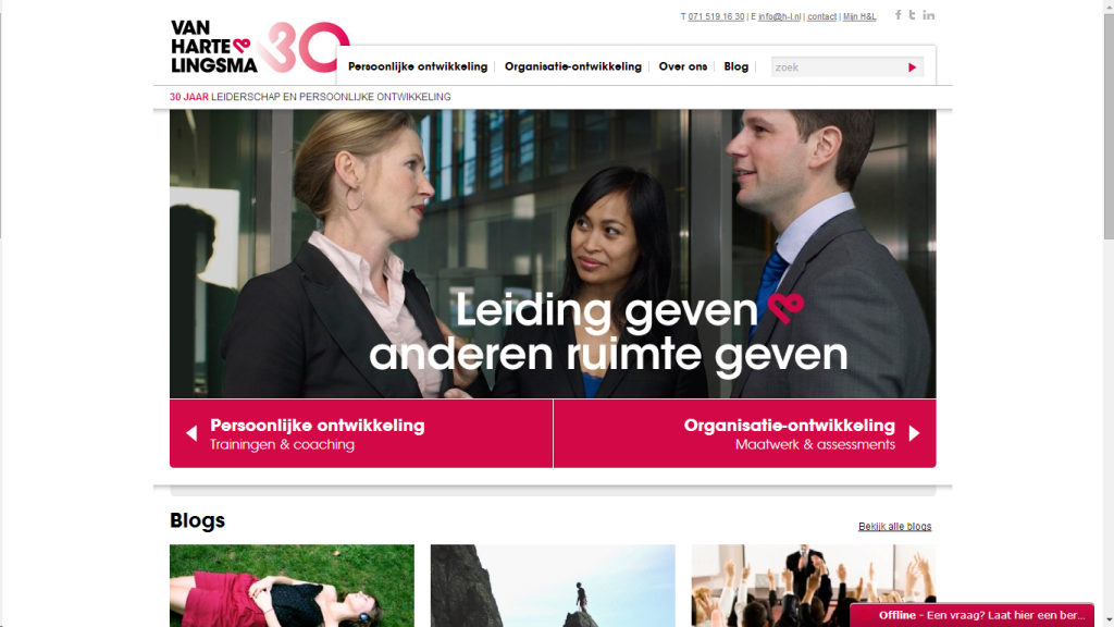 ONLINE MARKETING VAN HARTE
